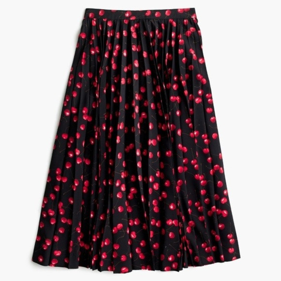 J. Crew Dresses & Skirts - NWT Jcrew Cherry print skirt, Sz 6P